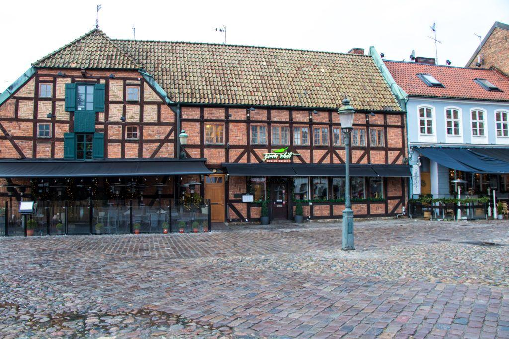 Malmö. Kolejne stare domy