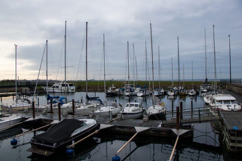 Malmö. Port jachtowy