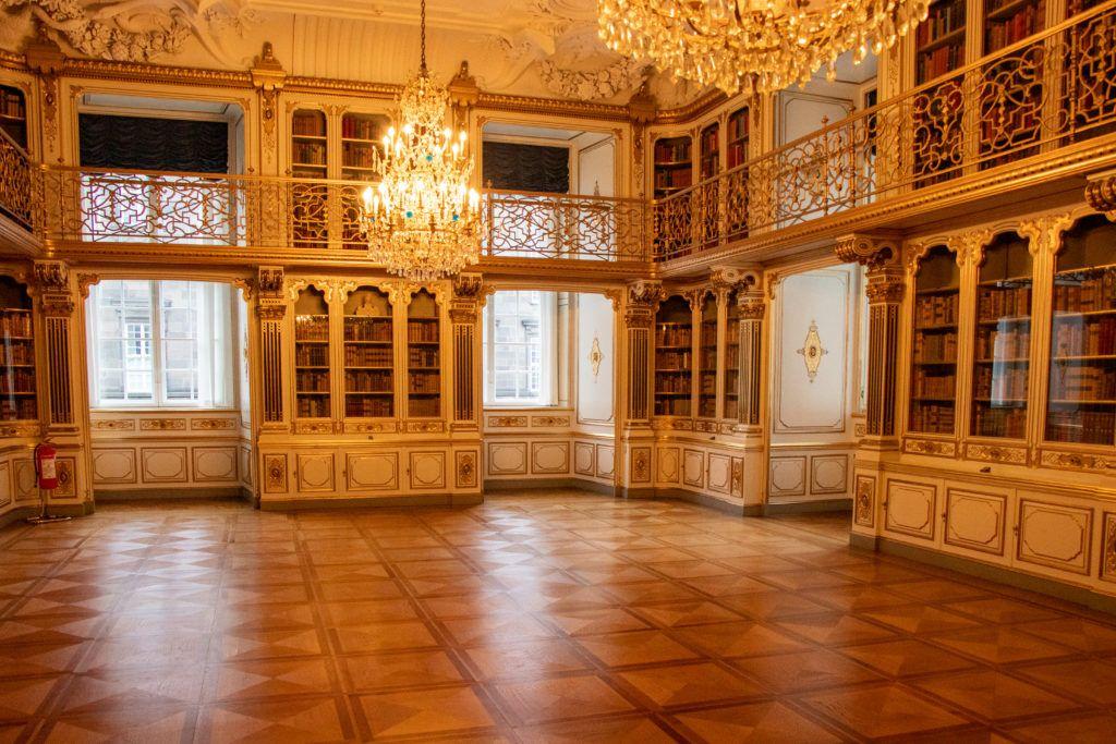 Kopenhaga przed świętami. Biblioteka
