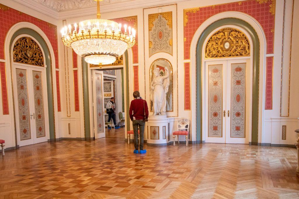 Jedna z sal w Christiansborg Palace