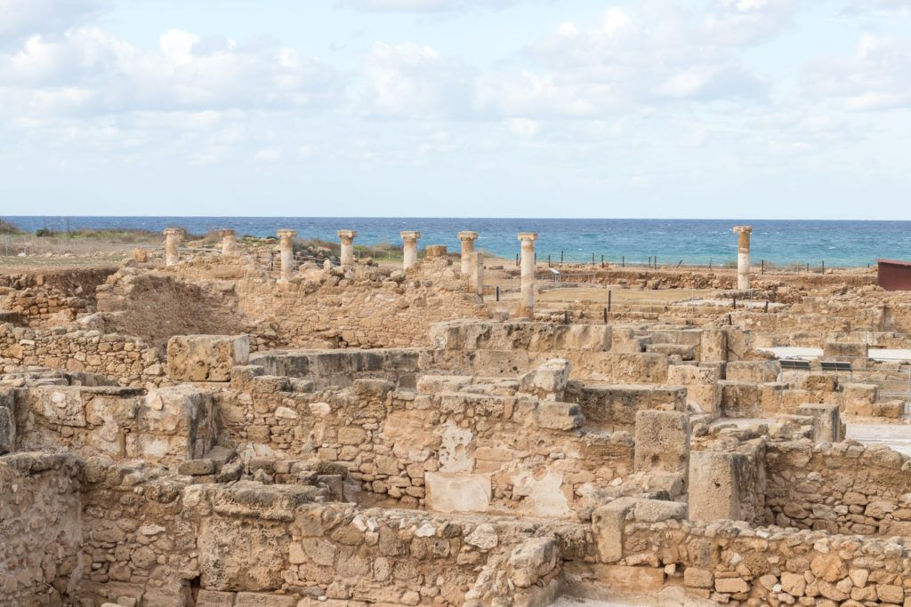 Pafos. Ruiny