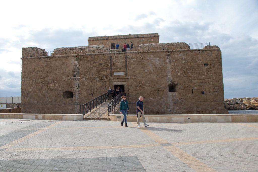 Pafos. Zamek