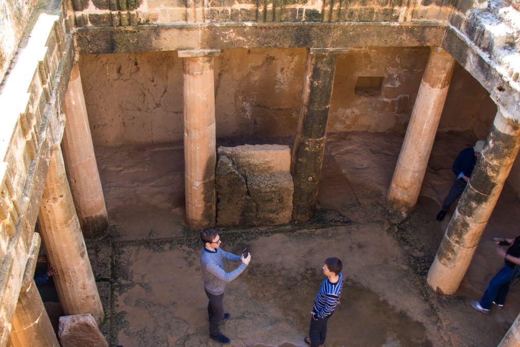 Pafos. Jeden z grobów