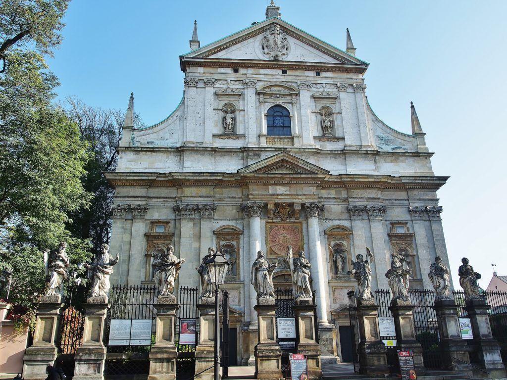 Weekend w Krakowie. Kościół św. Piotra i Pawła