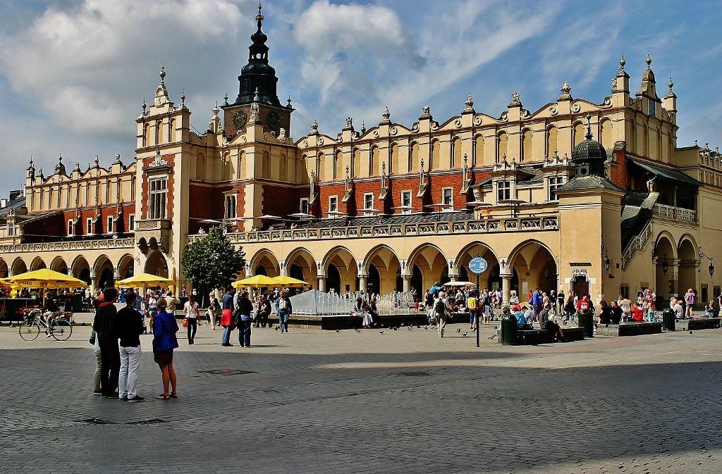 Weekend w Krakowie. Sukiennice