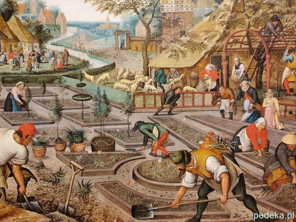 Muzeum Sztuk Pięknych w Bukareszcie obraz Petera Breughla Starszego z cyklu Cztery pory roku