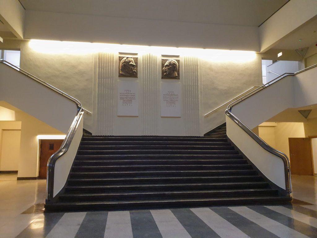 Gdynia. Muzeum Emigracji. Wspaniały hol