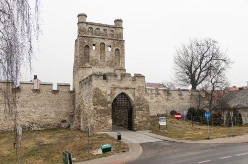 Szydłów. Brama Krakowska