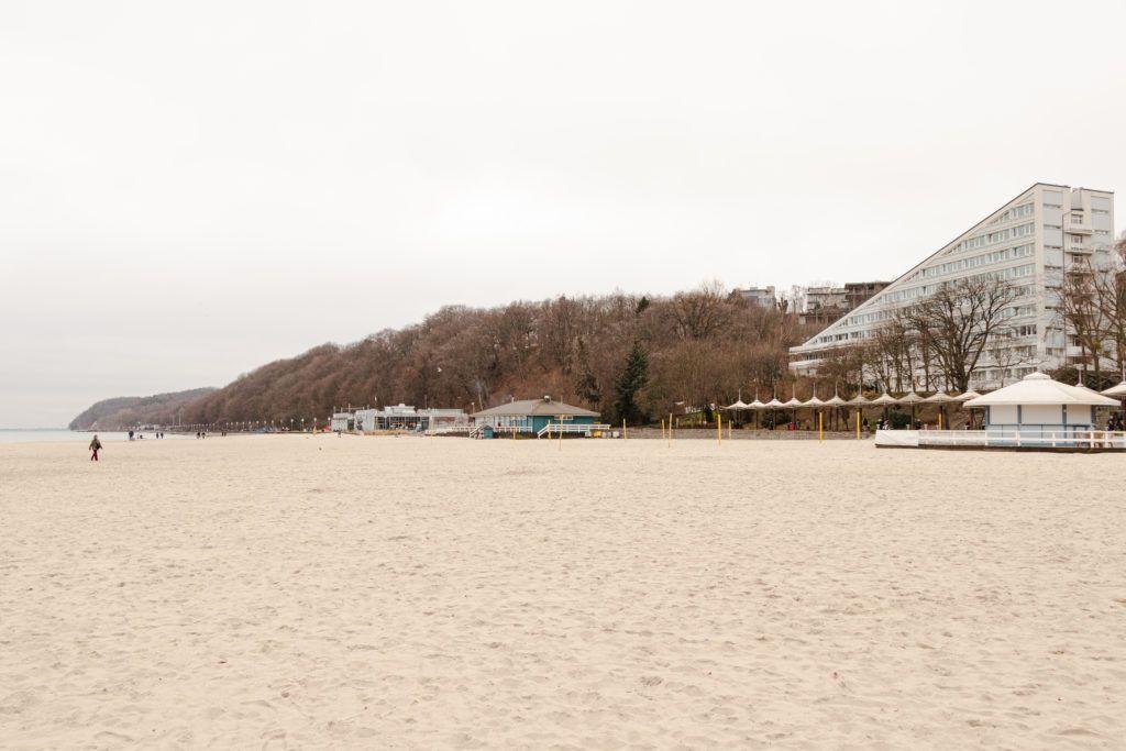 Gdynia. Plaża