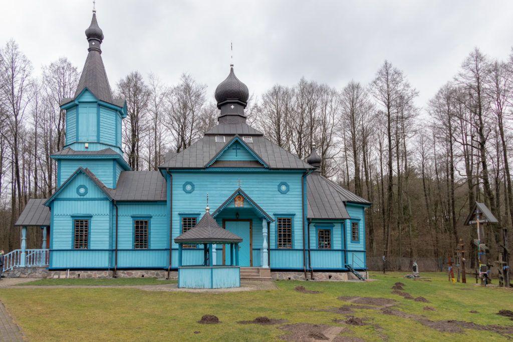 Mielnik i Koterka. Cerkiew w Koterce