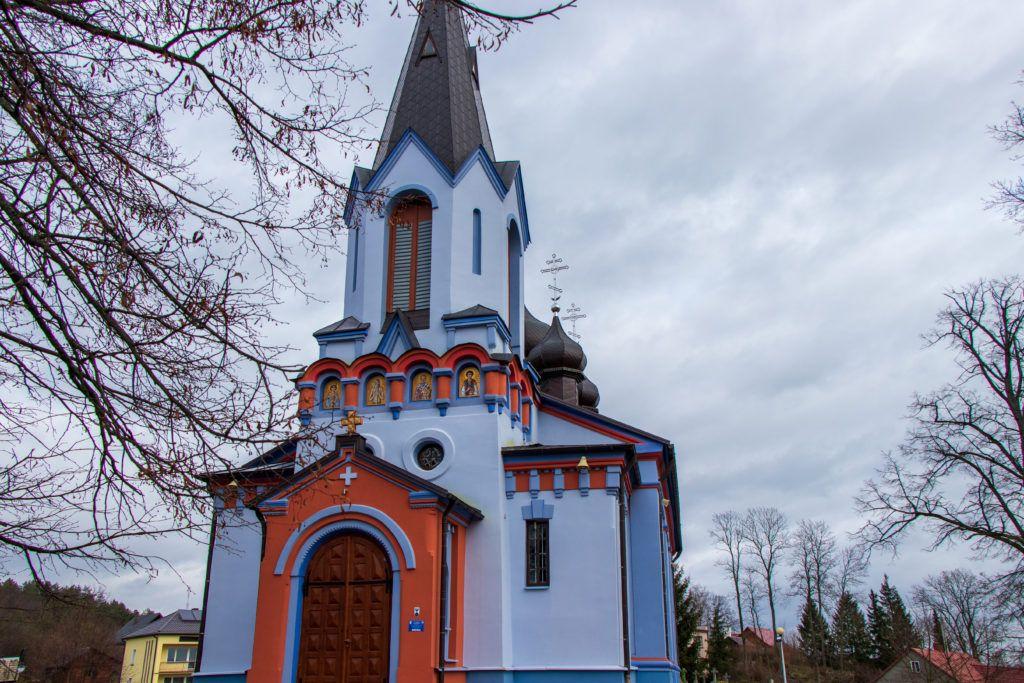 Cerkiew od strony wejścia