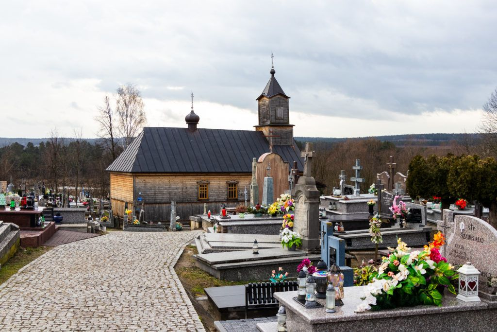 Mielnik i Koterka. Cerkiew cmentarna