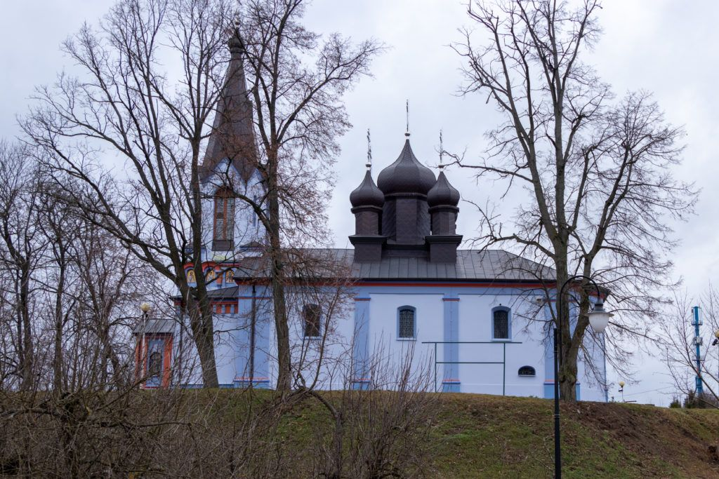 Mielnik i Koterka. Cerkiw parafialna w Mielniku