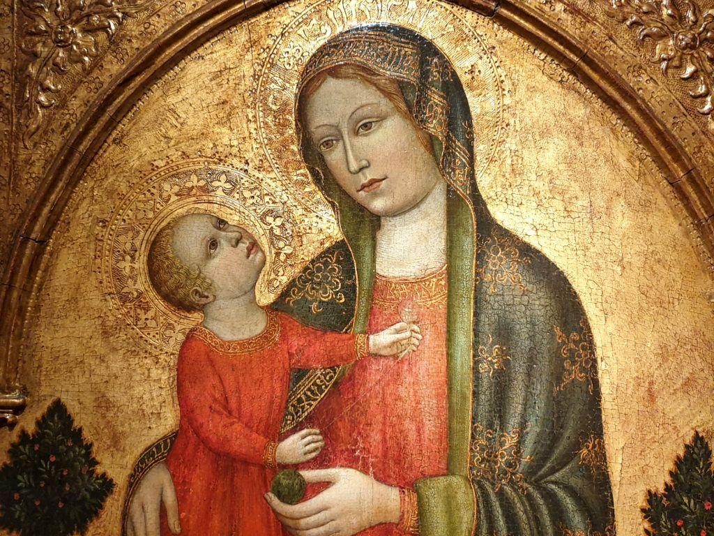 Jeden z obrazów z wystawy hiszpańskiej