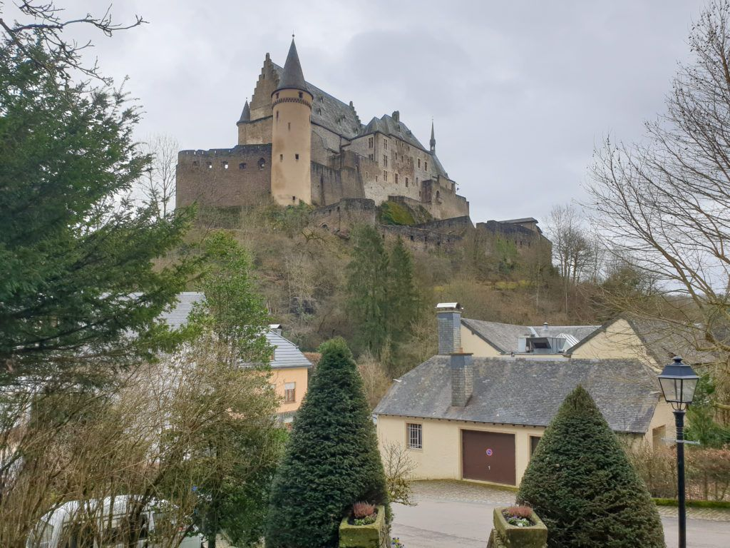 Vianden zamek