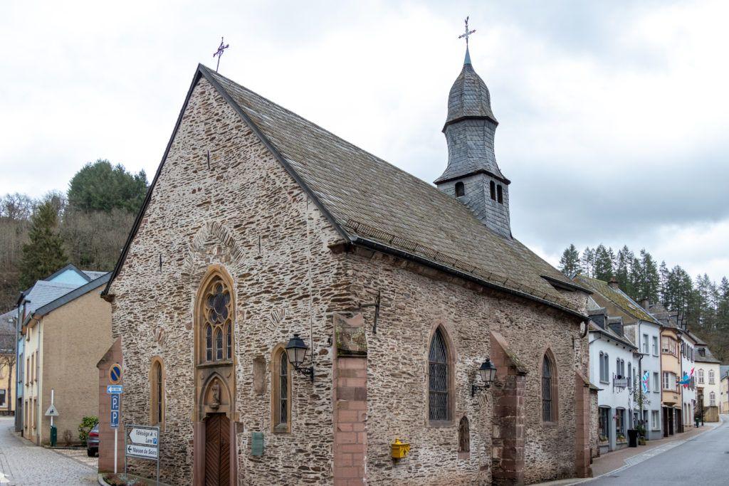 Vianden. Kościół św. Mikołaja