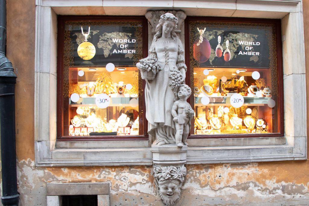 Rzeźba warszawskiej mieszczki