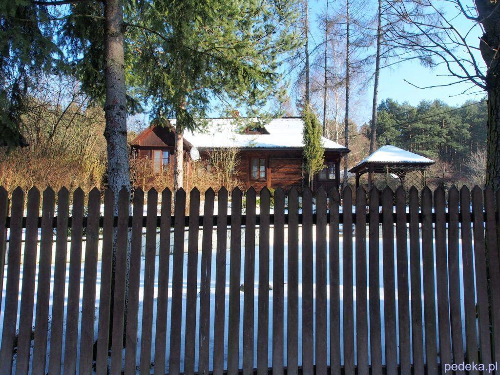 Jeden z domów w Mięcmierzu