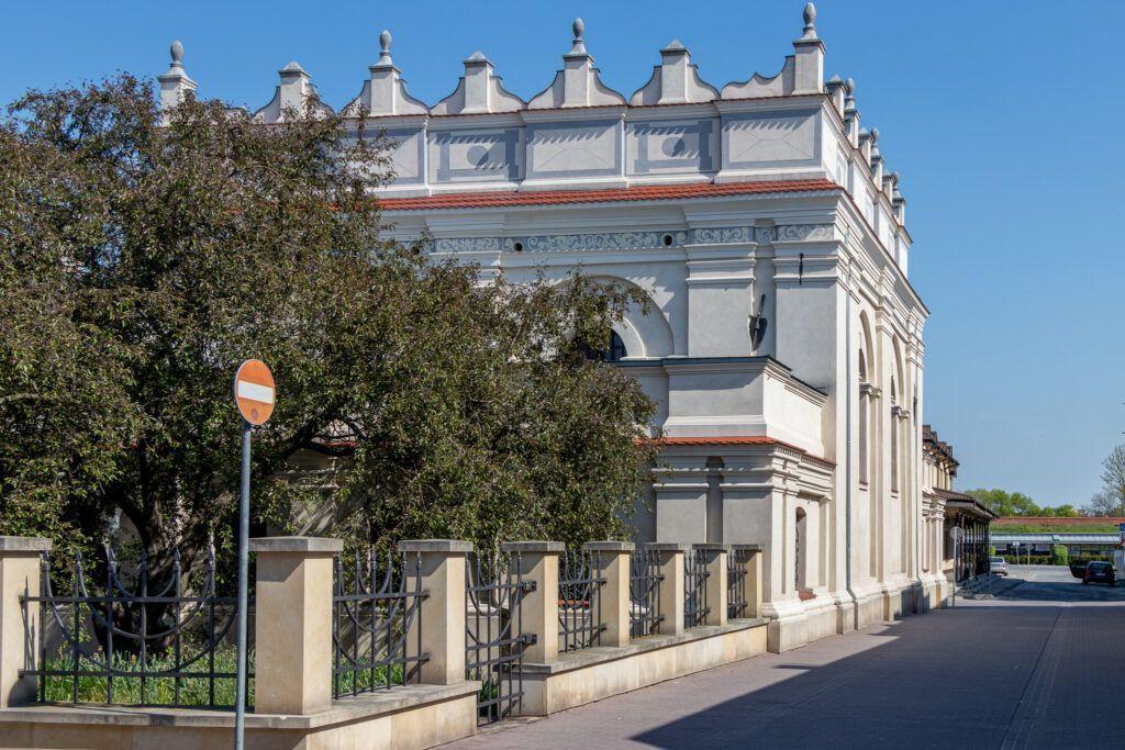 Jeden dzień w Zamościu. Synagoga