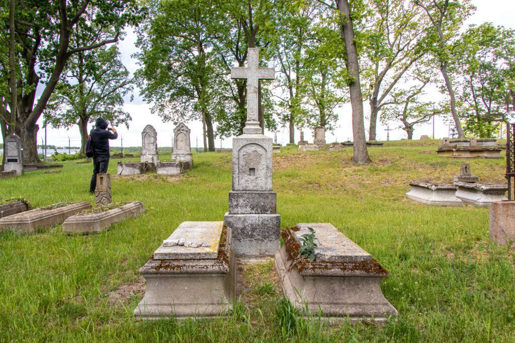 Dawny cmentarz mennonitów