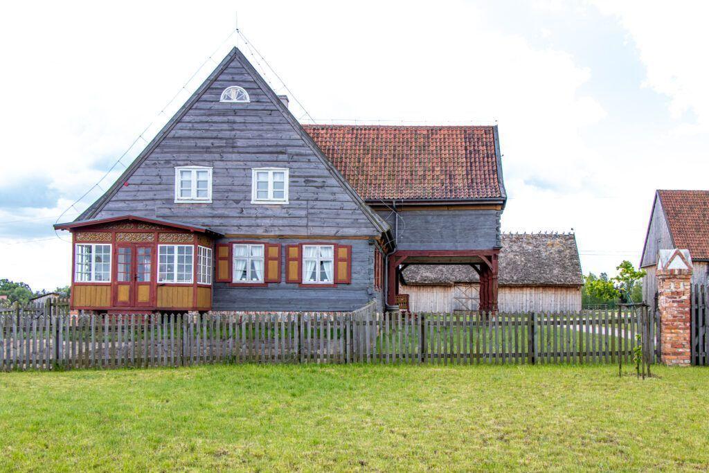 Olenderski Park Etnograficzny. Dom bogatego gospodarza