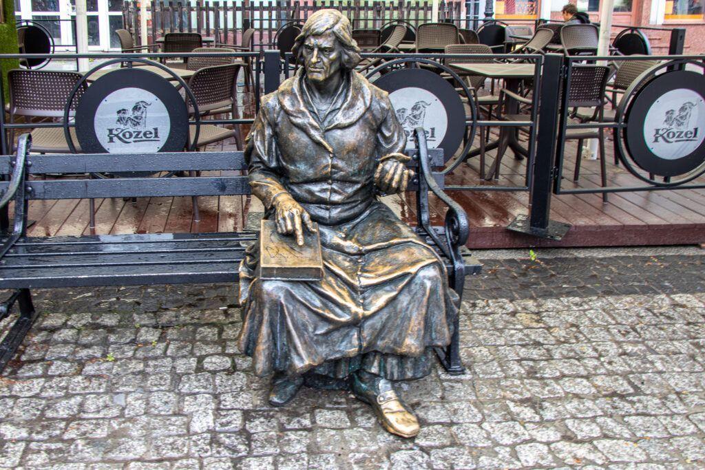 Ławeczka z Kopernikiem