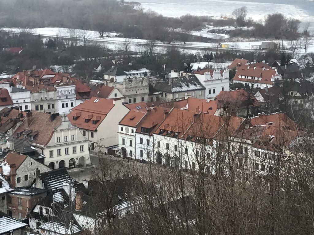 Jeden dzień w Kazimierzu Dolnym. Widok z Góry Trzech Krzyży