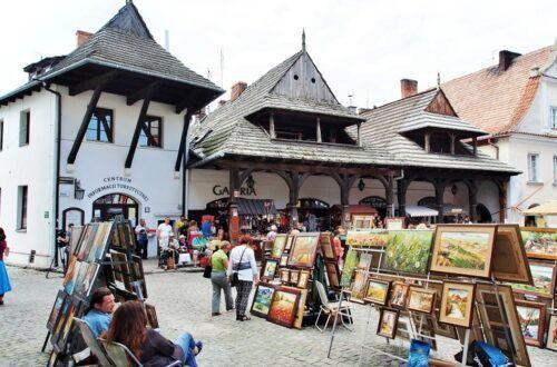 Jeden dzień w Kazimierzu Dolnym