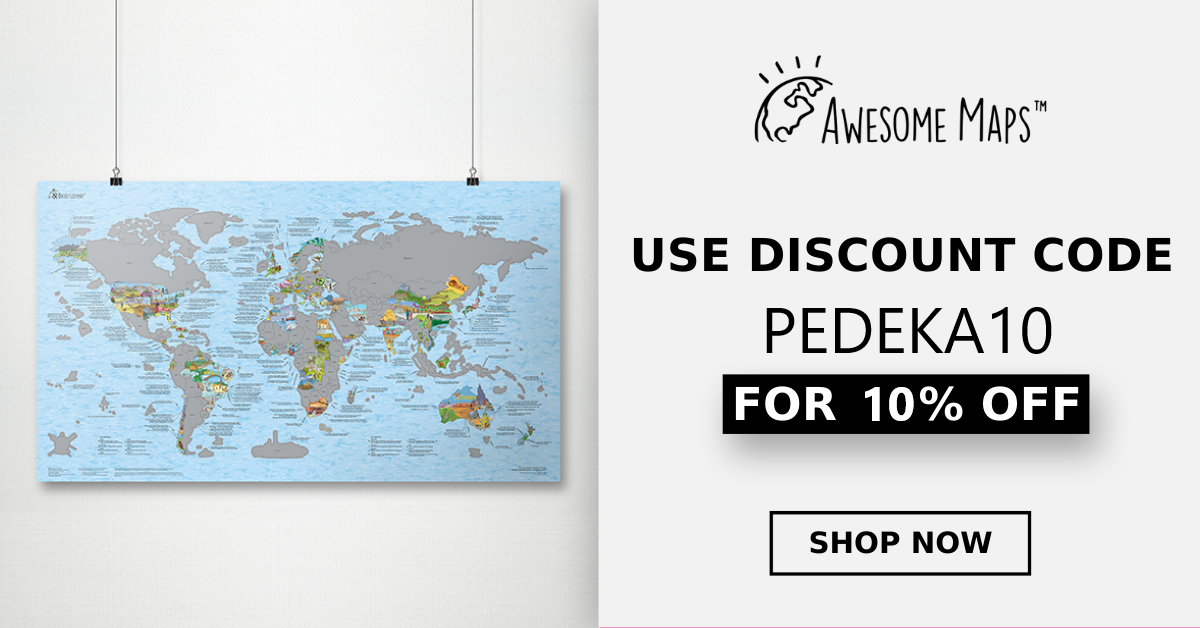 Awesome Maps Banner - horizontal