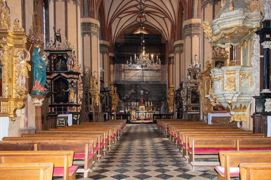 Frombork. Wnętrze katedry