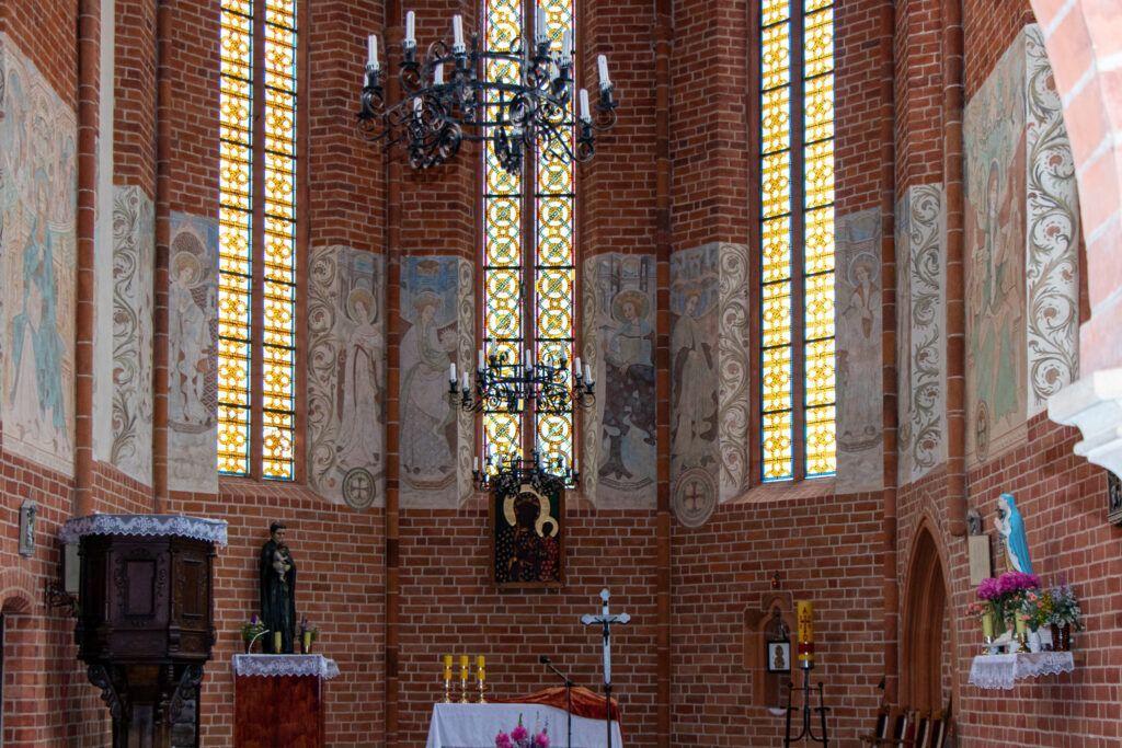 Chwarszczany i Rurka. Odnowione freski w kościele w Chwarszczanach