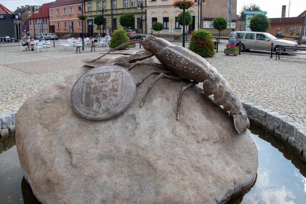 Moryń. Pomnik Raka