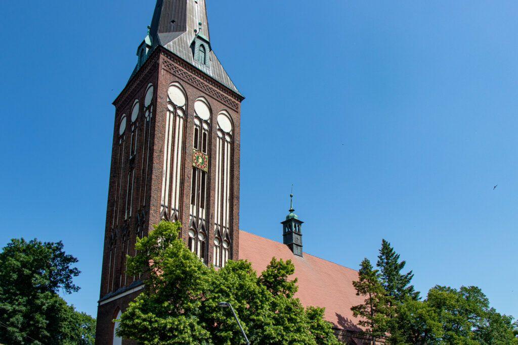 Stargard. Kościół św.Jana Chrzciciela