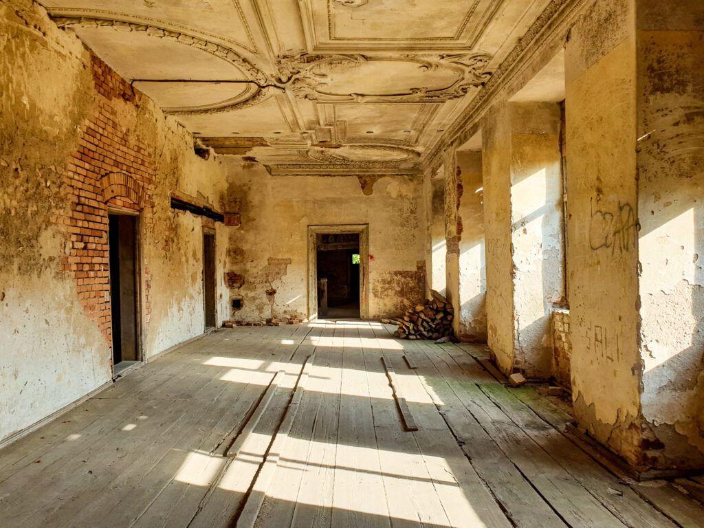 Pałac wewnątrz