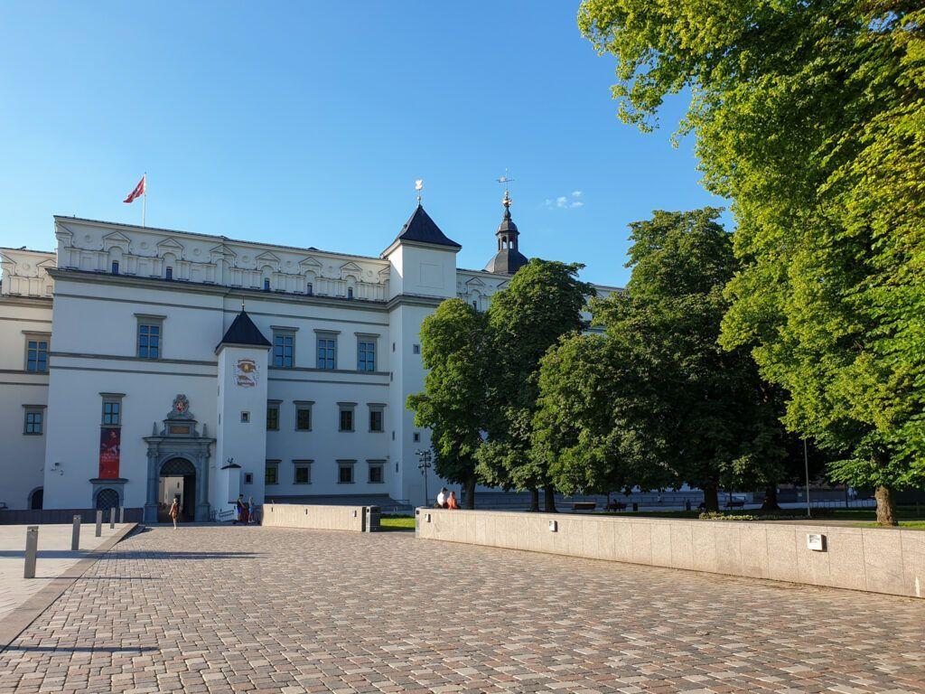 Zamek w  Wilnie