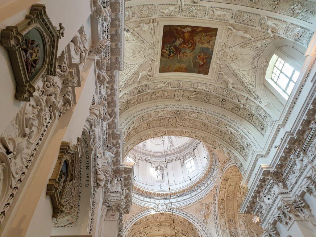 Sklepienie kościoła