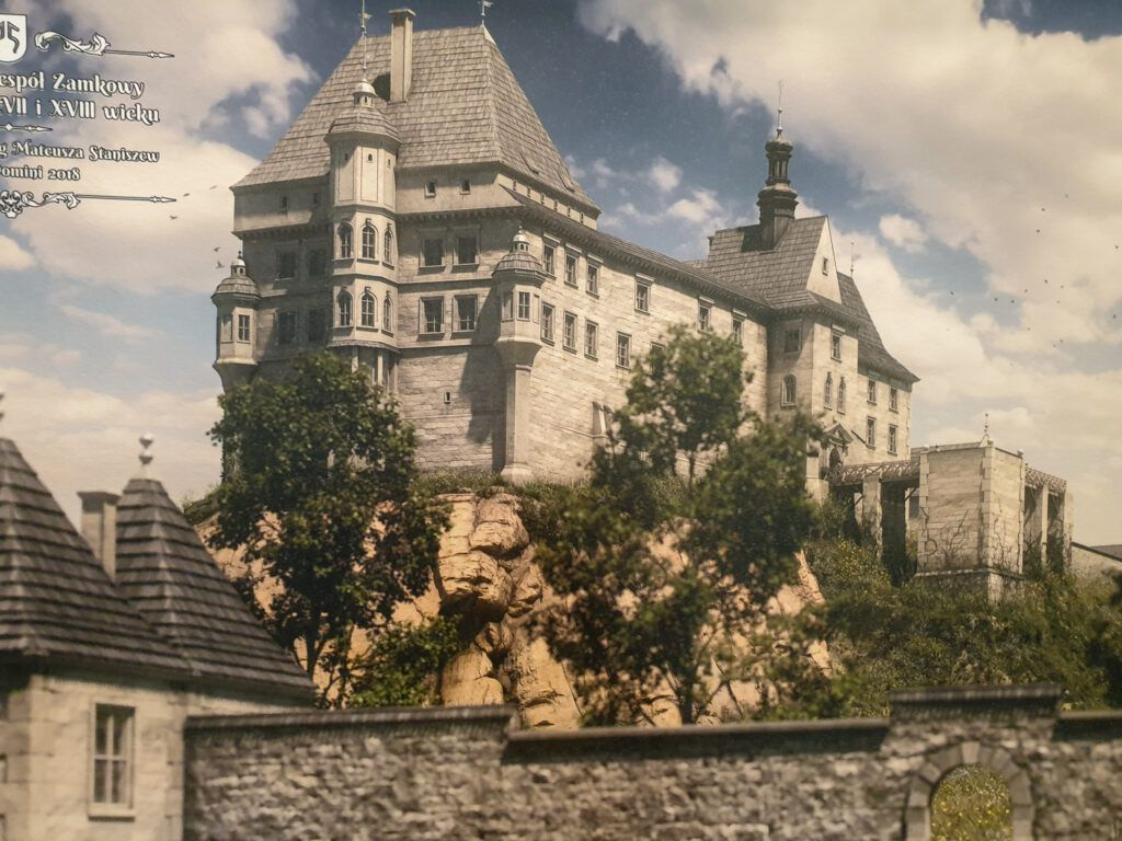 Pińczów. Tak wyglądał zamek w XVII i XVIII wieku