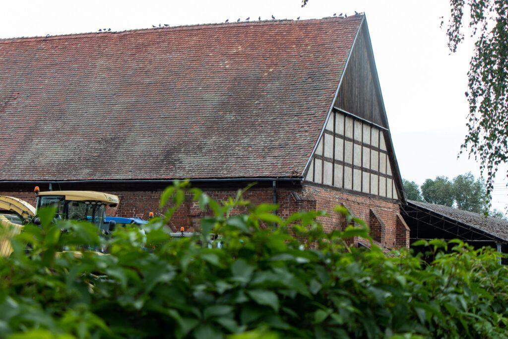 Kołbacz. Średniowieczna stodoła