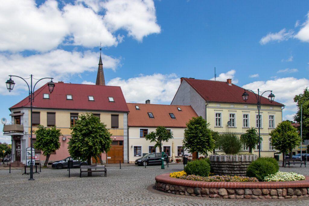 Rynek w Trzicńsku-Zdroju