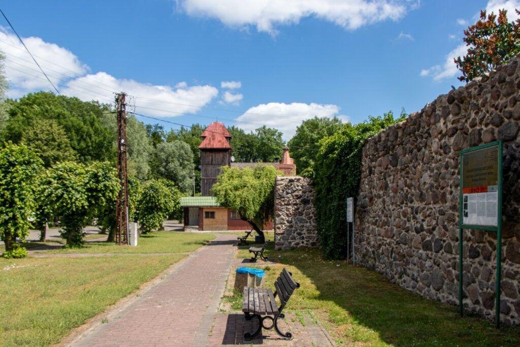 Trzcińsko-Zdrój Mur obronny