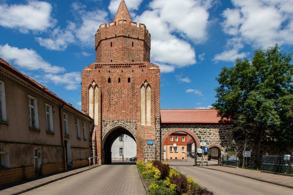 Trzcińsko-Zdrój. Brama Myśliborska