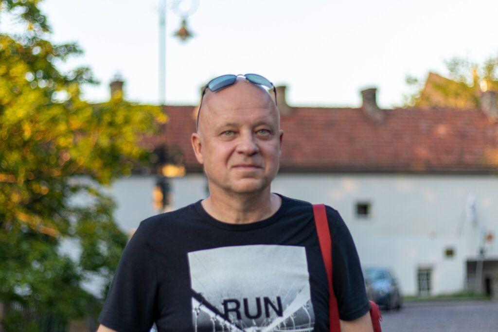 Wilno spacery. Marcin