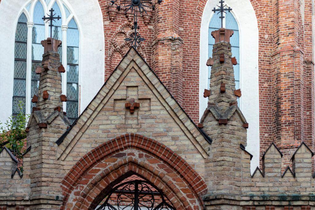 Kościół św. Anny, trochę detali