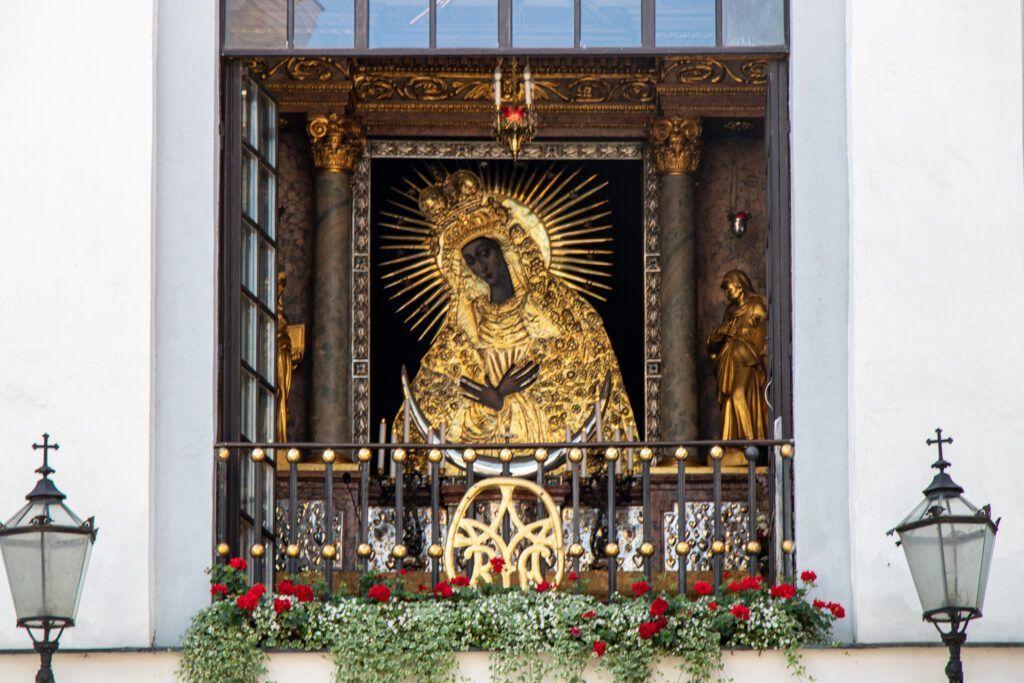 Wilno. Obraz Matki Boskiej Ostrobramskiej