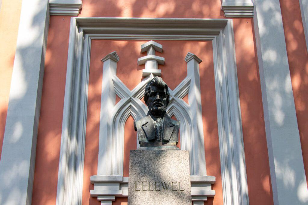 Wilno. Cmentarz na Rossie grób Lelewela