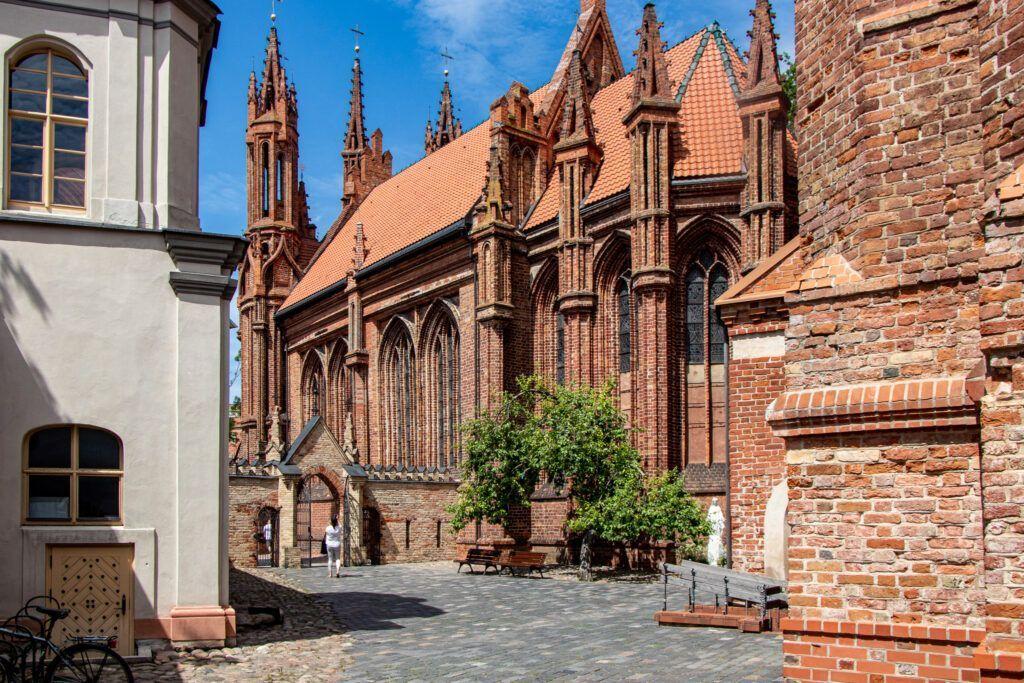 Wileńskie kościoły. Kościół św. Anny