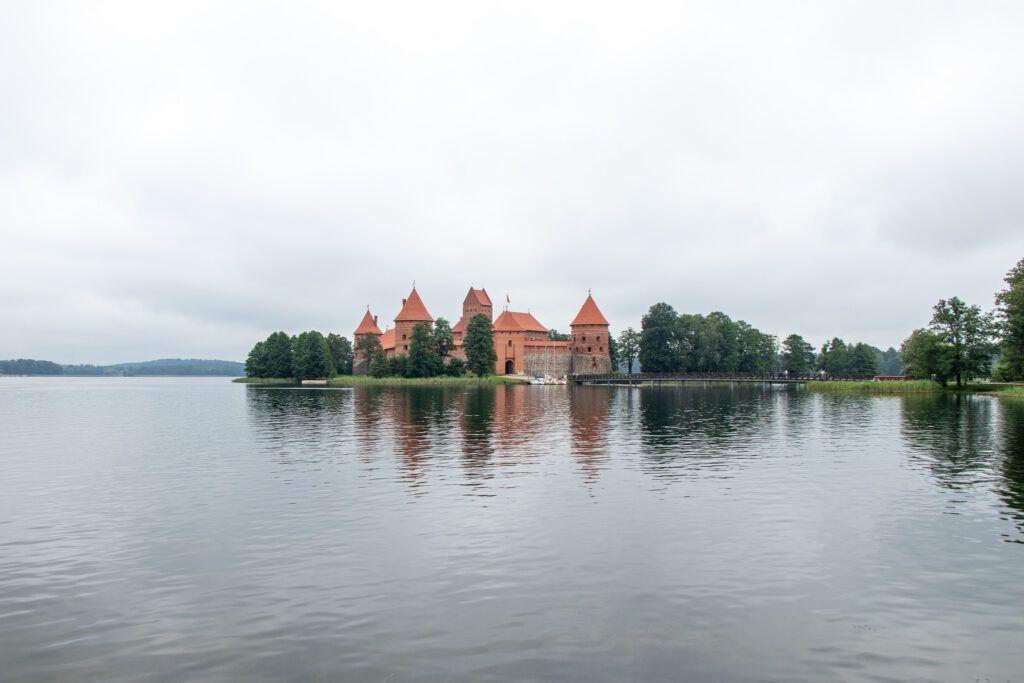 Troki. zamek