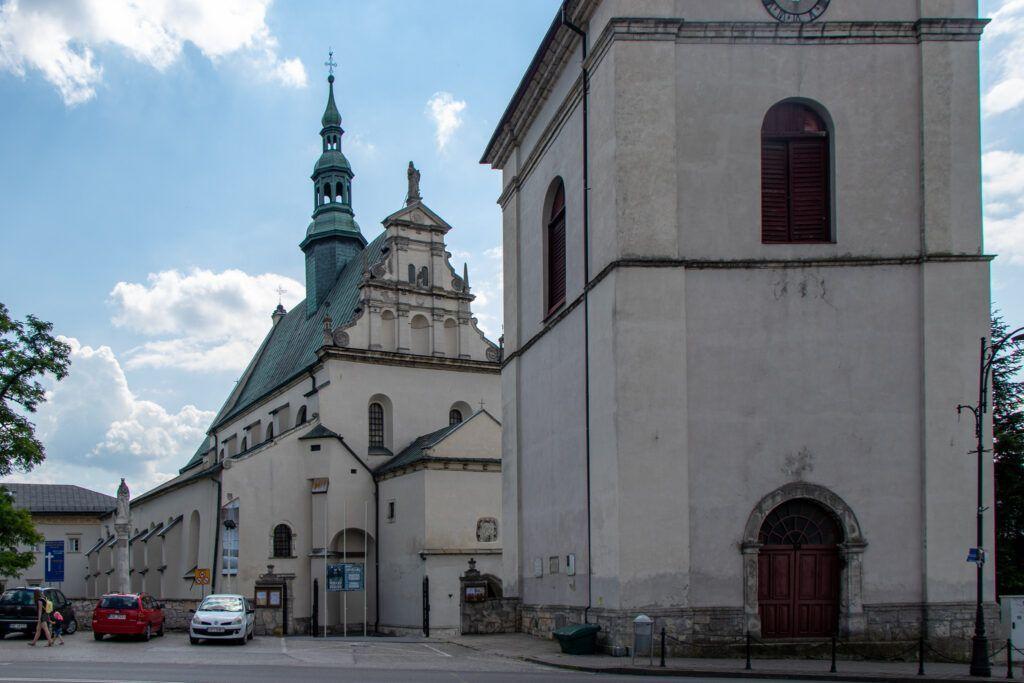 Pińczów. Kościół pod wezwaniem św. Jana Apostoła i Ewangelisty