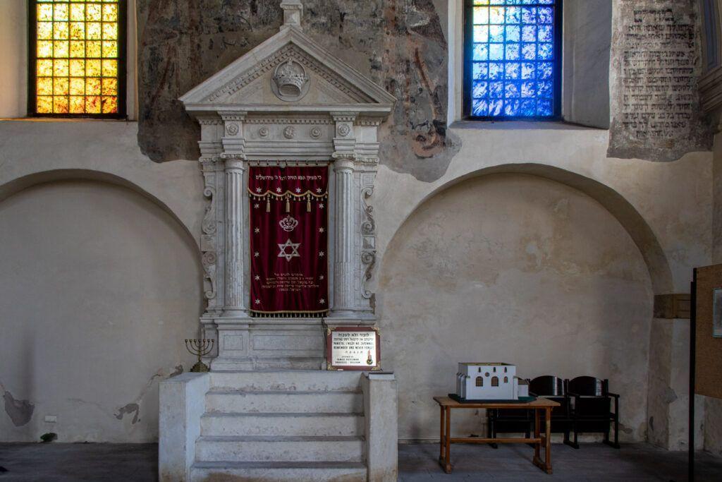 Pińczów. Synagoga