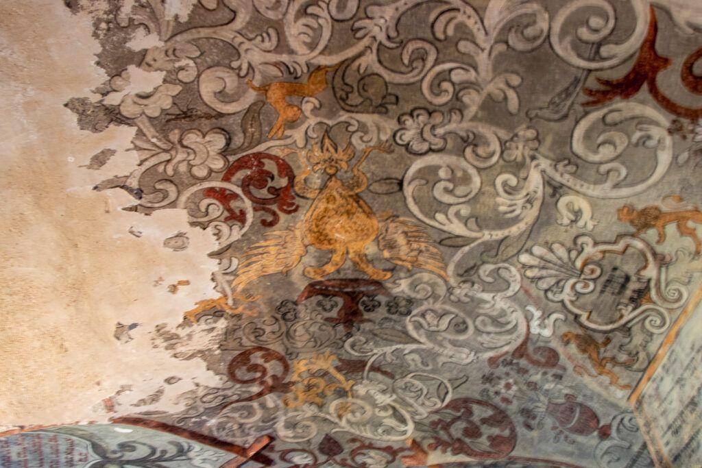 Freski w synagodze